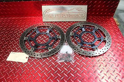 08 - 11 Cbr 1000Rr 1000 Rr Oem Front Brake Rotors Straight 4.32 Mm Thick Cbr60