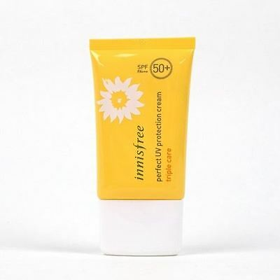 Uk Seller Innisfree Perfect UV Protection Cream Triple Care SPF50+ PA+++ 50ml