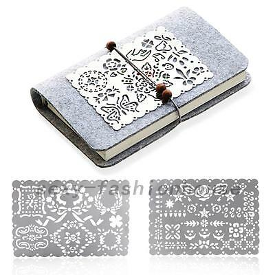 Stainless Steel Hollow Ruler Drawing Painting Stencil Template Graffiti Ruler