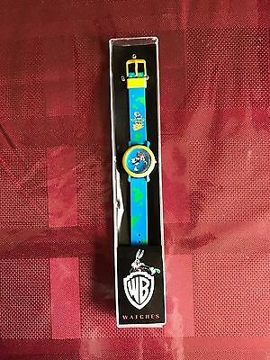 Vintage Animaniacs Watch 1994 Blue The Warner Bros. Watch Collection