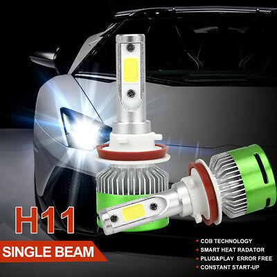 H1 LED PHILIPS 16000LM 160W  Headlight High 6000K Kit Bulbs High or Low Beam