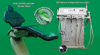 Dental Adec 511 Chair & ASI Advanced Endodontic Delivery Unit PERFECT ENDO OP $$