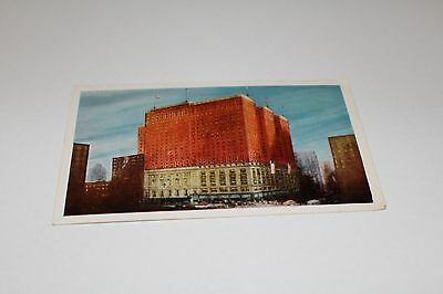 Vintage Postcard - Palmer House Hotel, Chicago