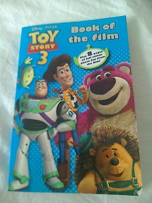 Disney pixar Toy Story 3 book of the film paperback paragon good condition