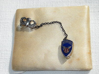 11th Airborne pin With Jump Wings Vintage Maybe WW2 in Original Box