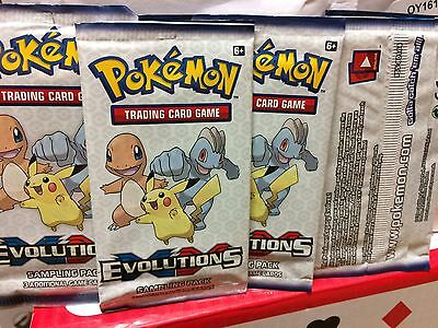 pokemon xy evolutions booster sampling pack 15 packs pokemon trading card game