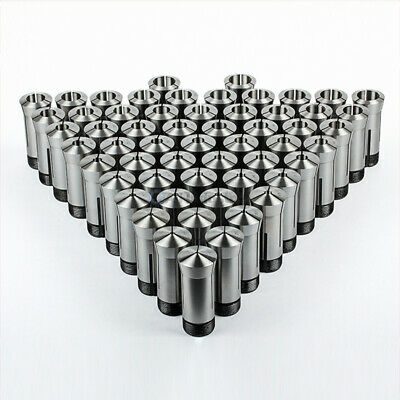 "57 Pc 5C Collet Set Fractional 1/8"" to 1"" High Precision Lathe 57 Piece"