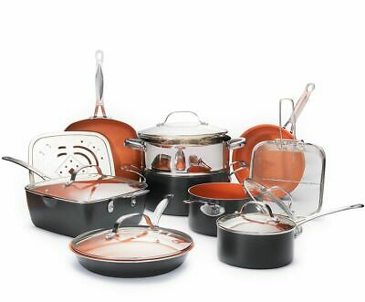 Gotham Steel Complete Kitchen in a Box, Nonstick 20 Piece Ceramic Cookware Set