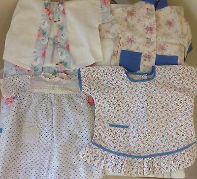 Vintage Lot Of Doll Clothes For Larger Doll