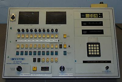 Telex Vega C-5112 Ten Line Four Frequency Radio Control Console