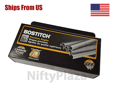 B8 Staples 5000 Per box Genuine Bostitch Staples BRAND NEW *******FREE SHIPPING