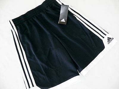 New Boys Small 8 10 Adidas Black White Core Climacool Soccer Athletic Shorts