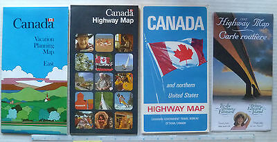 16 Dif. Canadian -  Geographic, Highway &  Tourist Maps  1966+