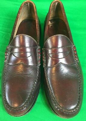 54fba5bda2b GUCCI MENS LEATHER slip-on shoes size 8 (42) authentic vintage made ...