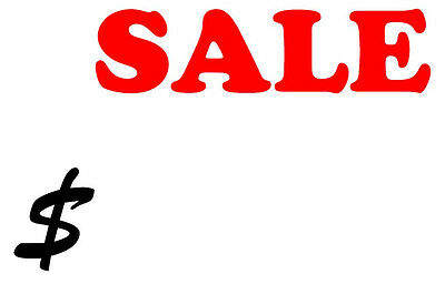 240 Sale Discount Stickers Labels Retailer Point Of Sale