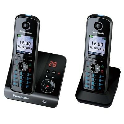 Panasonic KX-TG8162ALB Cordless Phone (TWIN) with GEN PANASONIC WARR