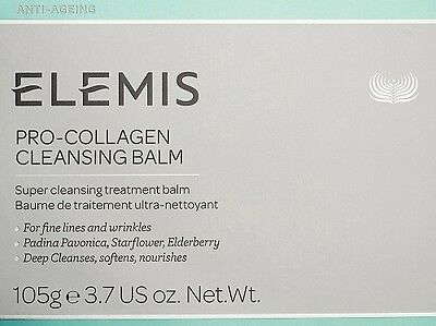 Elemis Pro Collagen Cleansing Balm 105g / 3.7oz Exp.Date 2019 New Packing Box
