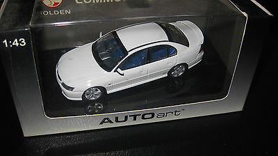 BIANTE AUTOart  HOLDEN VY SS COMMODORE HERON WHITE 1/43 LIMITED EDITION  #53425