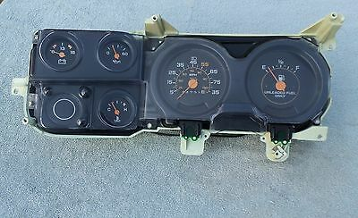 1980-87 Chevy/ GMC Truck Instrument Cluster ,Tested !