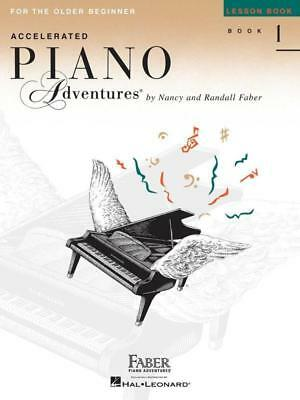 Faber Accelerated Piano Adventures for the Older Beginner Lesson Book 1