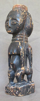 Rare BAOULE Janus Carving  - Guinean Forest (former 'AOF') - early 1900