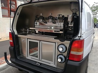 Mercedes Vito Coffee Van with La Marzocco Strada