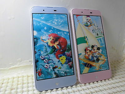 NTT-docomo DM-01J Disney Mobile Non-working Display Phone 2 color set