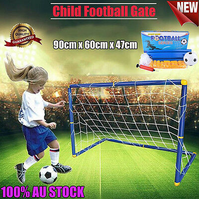 Foldable Football Gate Soccer Goal Pop Up Net Kids Outdoor Play Training Toy -HG
