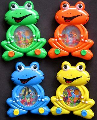 Bulk Lot x 10 Friendly FROG Water Games NEW Kids Party Favors Fun Novelty Toys