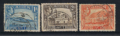 3 Aden Stamps
