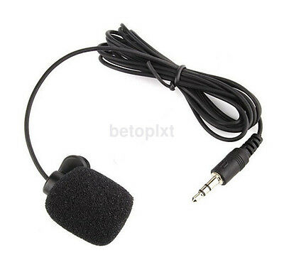 3.5mm External Microphone Clip On Mic Adapter Cable for GoPro Hero 3 Hero 3+ fr
