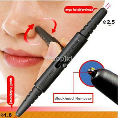 Nose Facial Blackhead Pimple Extractor Stick Remover Acne Pore Cleaner Tool f'r