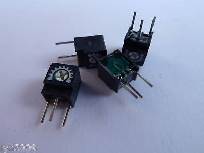 4 Miniature Singleturn Trimmer Resistors Side Adj. 1K