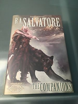 The Companions by R.A. SALVATORE Hardcover Brand New First Edition