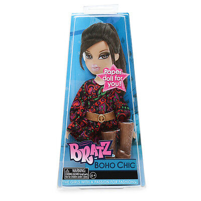 NEW Bratz BOHO CHIC Fashion Outfit With Paper Doll