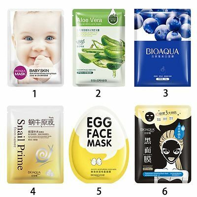 Face Mask Sheet Deep Moisture Essence Facial Skin Care Cosmetics Pack