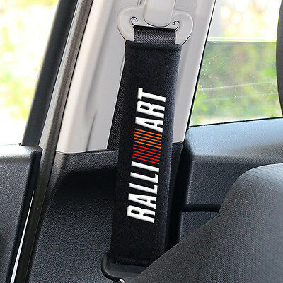RALLIART Seat belts case cover Shoulder car accessories Cotton fit embroidered