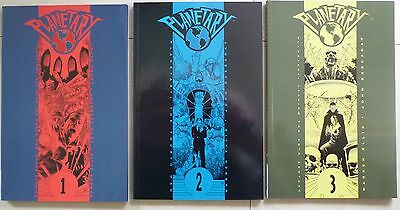 Planetary Volumes 1, 2  & 3 - Warren Ellis & John Cassaday - Vg Cond Paperbacks