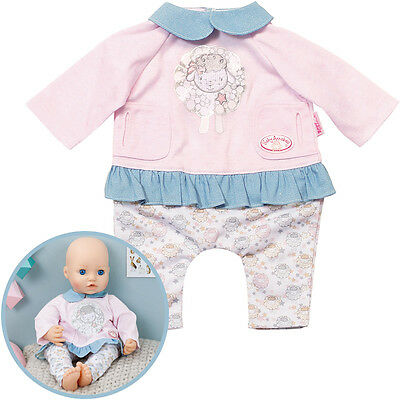 Zapf Creation Baby Annabell Tag Outfit (Rosa-Blau)