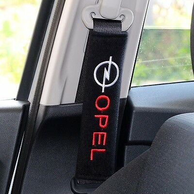 OPEL Corsa Seat belts case cover Shoulder car accessories Cotton embroidered