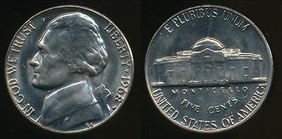 United States, 1968-D 5 Cents, Jefferson Nickel - Uncirculated