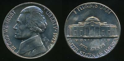 United States, 1975-D 5 Cents, Jefferson Nickel - Uncirculated