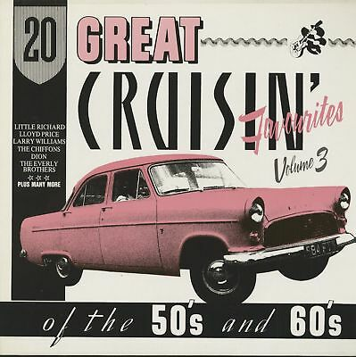 Various - 20 Great Cruisin' Favourites Of The 50's And 60's, Vol.3 (LP) - Vin...