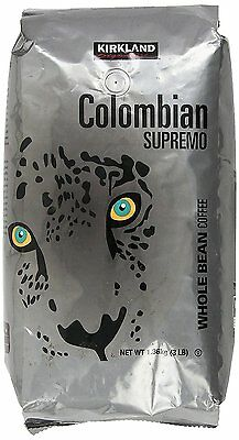 Kirkland Colombian Supremo Whole Bean Coffee 1.36kg