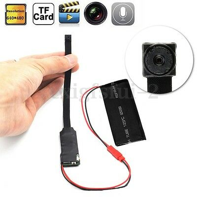 DIY Module Wifi IP Wireless Hidden Mini Camera Car DVR  DV Motion Detection Cam