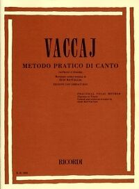 VACCAI PRACTICAL METHOD HIGH Soprano or Tenor + CD