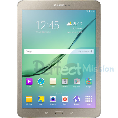 "NEW SAMSUNG GALAXY TAB S2 (2016) 9.7"" Wi-Fi T813 Gold 32 GB    WARRANTY"