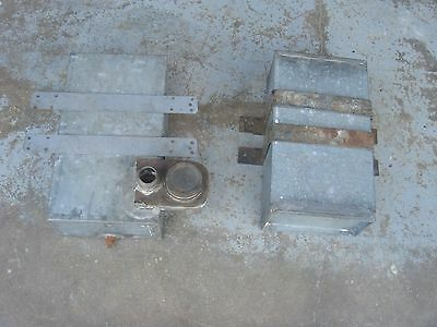 2 Vintage 1.5 -  2 hp ZD Fairbanks Gas Engine Hit Miss Fuel Tank John Deere Lot