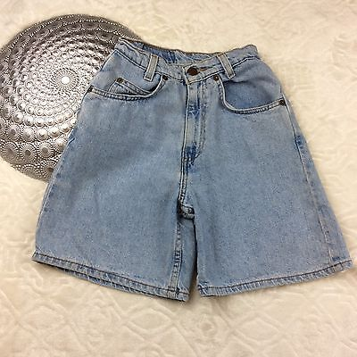 VTG 550 Levis Slim Kid Jean Shorts Vintage Relaxed Fit Light Wash Denim Size 12