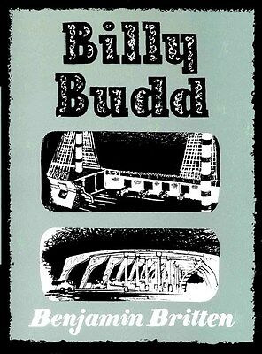 BRITTEN BILLY BUDD Vocal Score